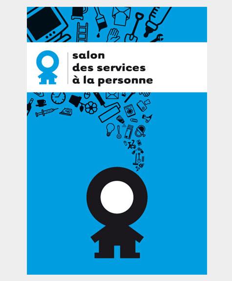 Identit visuelle du salon des services la personne for Salon service a la personne